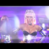 Kate Ryan Robots Sexy Silver Catsuit HD Video