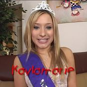 Kayla Marie Teenage Anal Princess 2 DVDR & BTS Video