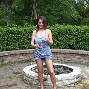 Nikki Sims Catching Water Balloons HD Video