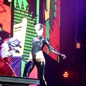Rihanna Rude Boy Live Oberhausen Shiny Black Latex Video