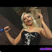 Nicki Hunter Latex Corset Femdom Video