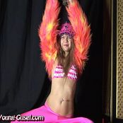 Young Gusel Pink Bikini Stripper Video