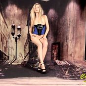Cali Skye Blue Corset HD Video