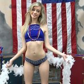Cali Skye Happy Birthday America 4th July Special HD Video