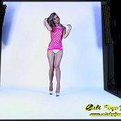 Cali Skye Pink Frence Dress Striptease HD Video