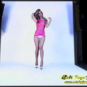Cali Skye Pink Frence Dress Striptease HD Video