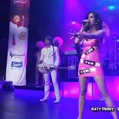 Katy Perry ET Live Walmart Soundcheck Pink Latex Video