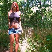Nikki Sims Wood Walk HD Video