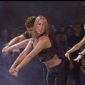 Rachel Stevens Sexy Shiny Black Tube Top Dancing Video