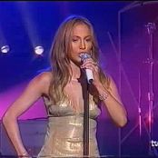 Jennifer Lopez Love Dont Cost A Thing Live 2001 Leather Dress Video