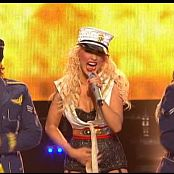 Christina Aguilera Candyman Live 2007 Tour HD Video