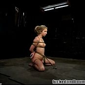 Jaelyn Fox Tied Up Dominated And Throat Fucked BDSM Video