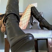 Princess Rene Horny For My Boots HD Video