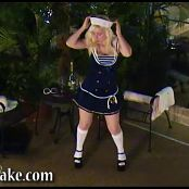 Sexy Pattycake Sailor Girl Striptease Video