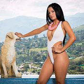 Clarina Ospina White Sensation TBF Picture Set 644