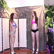 Alexis & Elizabeth FloridaTeenModels Suspenders Video