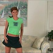 Halee Model Green Spring Break Shirt Video