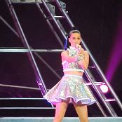 Katy Perry Silver Outfit Live Rexall Place HD Video