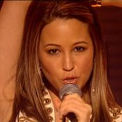 Rachel Stevens Negotiate With Love Live TWDM 2005 Video
