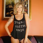 Sheri Belle Yoga Coffee Naps Picture Set & HD Video