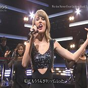 Taylor Swift We Are Never Getting Back Together Live 2014 高清视频