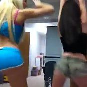 2 Hot Sluts Booty Dancing Video