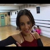 Short Video of Alizee Dancing Practise Video