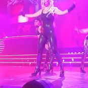 Britney Spears Epic Skin Tight Latex Catsuit Live POM HD Video