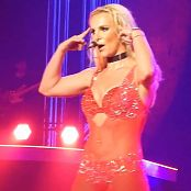 Britney Spears Freakshow Live POM Red Outfit HD Video