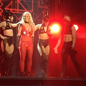 Britney Spears Freakshow Sexy Red Costume HD Video