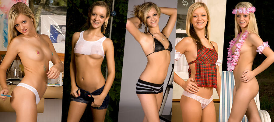 Cali Skye Maddy SouthernTeenModels Picture Sets Siterip