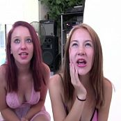 FloridaTeenModels Rachel & Heather Pink Lingerie Video