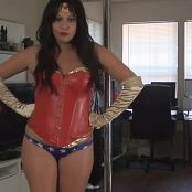 Kalee Carroll Wonder Woman Twerk 267 Video