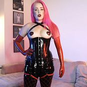 LatexBarbie Alpha? Not Anymore! JOI HD Video