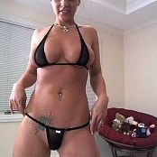 Nikki Sims Hot Black Bikini Stripping Part 1 & 2 Video