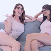 Andi Land & Amber Hahn Lesbian Fun HD Video