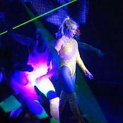 Britney Spears Boys Live POM Gymnastics Outfit HD Video