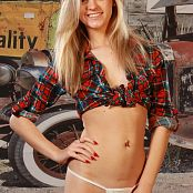 Cali Skye Flannel Shirt Picture Set & HD Video