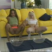 Catalina & Britni Crazy Piss Drink And Anal Abuse Video