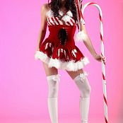Andi Land Candy Cane Girl Picture Set 553