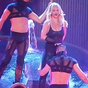 Britney Spears POM Feb 17 Black Catsuit Outfit HD Video