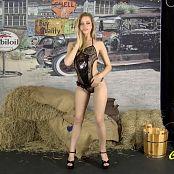 Cali Skye Burlap Striptease HD Video