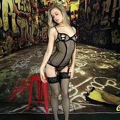 Cali Skye Hott Graffiti Striptease HD Video