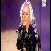 Christina Aguilera Infatuation Live MTV Xelebcrity Launch Party 2003 Video