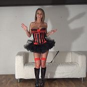 Nikki Sims Dominatrix Corset BTS HD Video