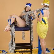 Silver Starlets Kira & Ichimaru Christmas 1 & 2 Picture Set