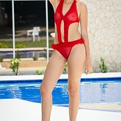 Angelita Model Pool Poses YFM Picture Set 228