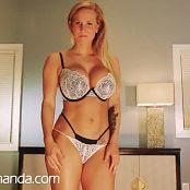 La dea Amanda ti borda il video JOI HD
