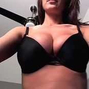 Nikki Sims Black Bra Sexy Pov Angle 03/10/2014 Camshow Cut Video
