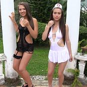 Mary Mendez & Susana Ortiz Contrasting Outfits TBF Bonus LVL 2 HD Video 23
